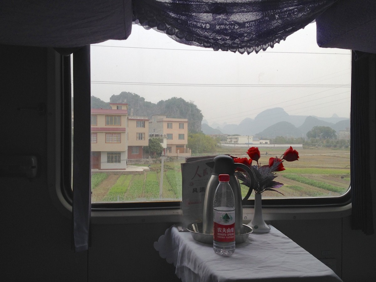 Softsleeper to Kunming