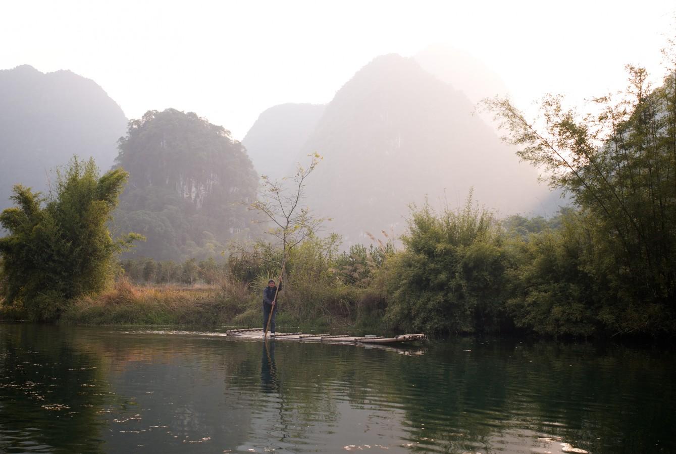 Jinbao river, Guangxi