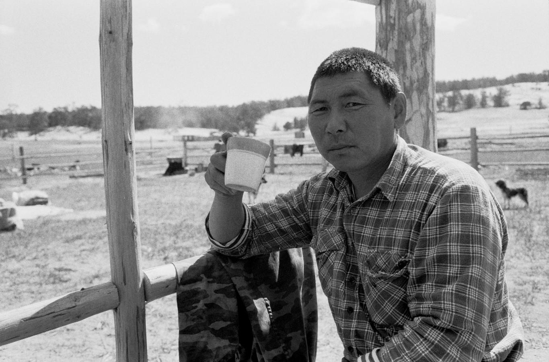 A Buryat worker, Ohklon, Lake Baikal