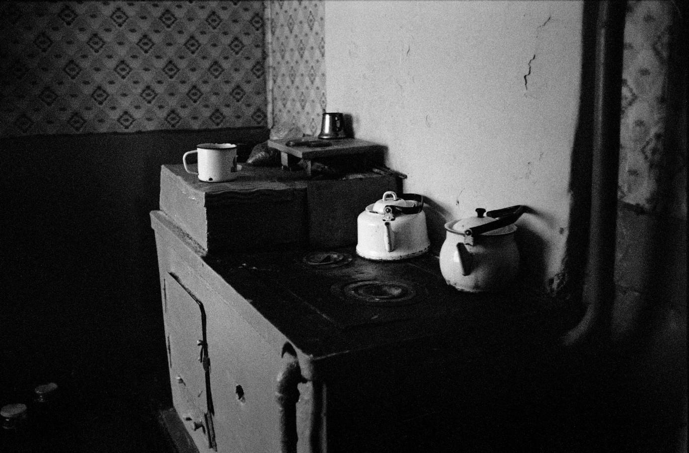 Grandmothers' kitchen, village of Schachta, Kuzbaz Region