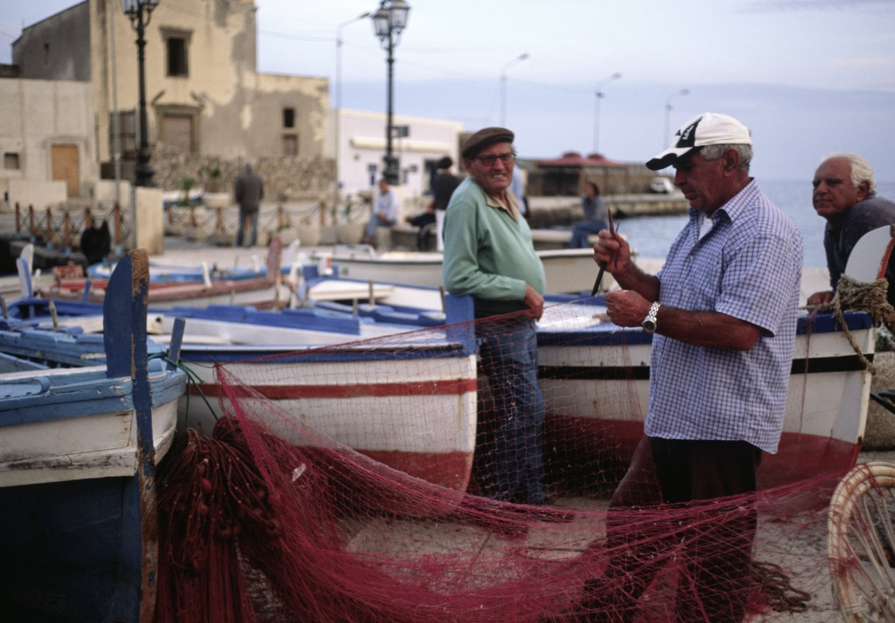 Traditional fisherman, Lipari, Liparian Islands, Sicilia