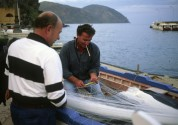 Traditional fisherman, Lipari, Liparian Islands, Sicilia