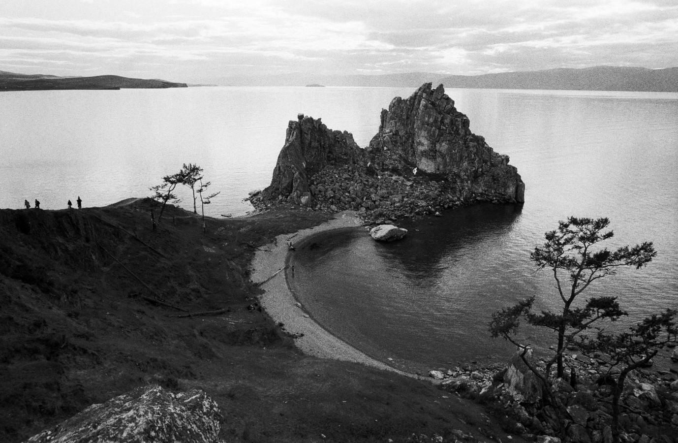 The Sjaman-rock, Ohklon Island, Lake Baikal