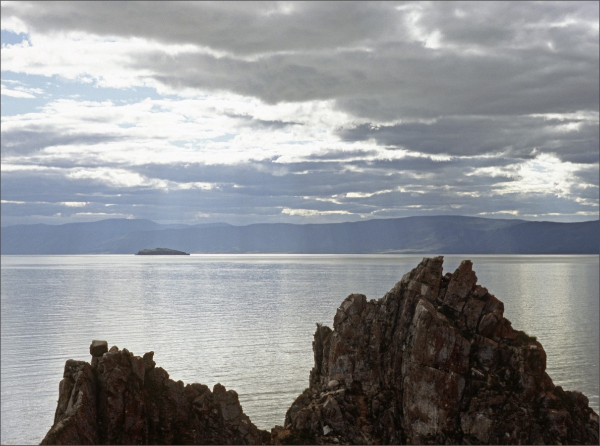 The Sjaman Rock, Ohklon, Lake Baikal