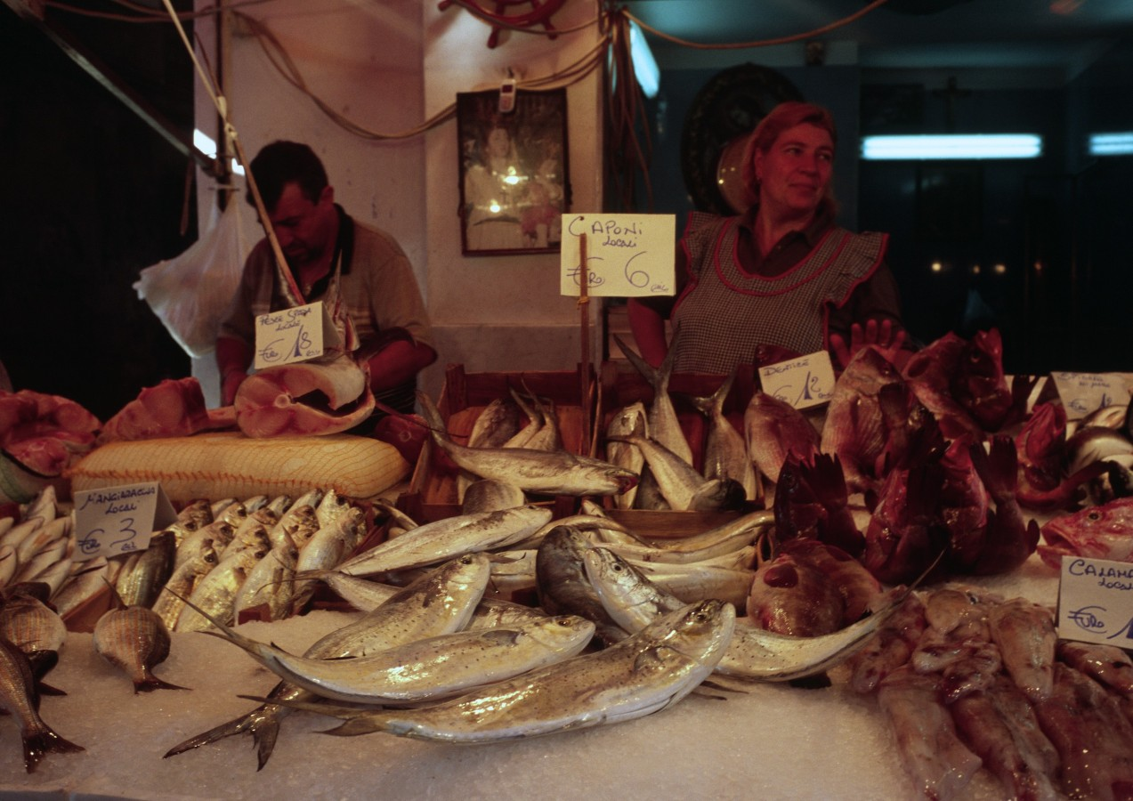 Fishmarket, Palermo