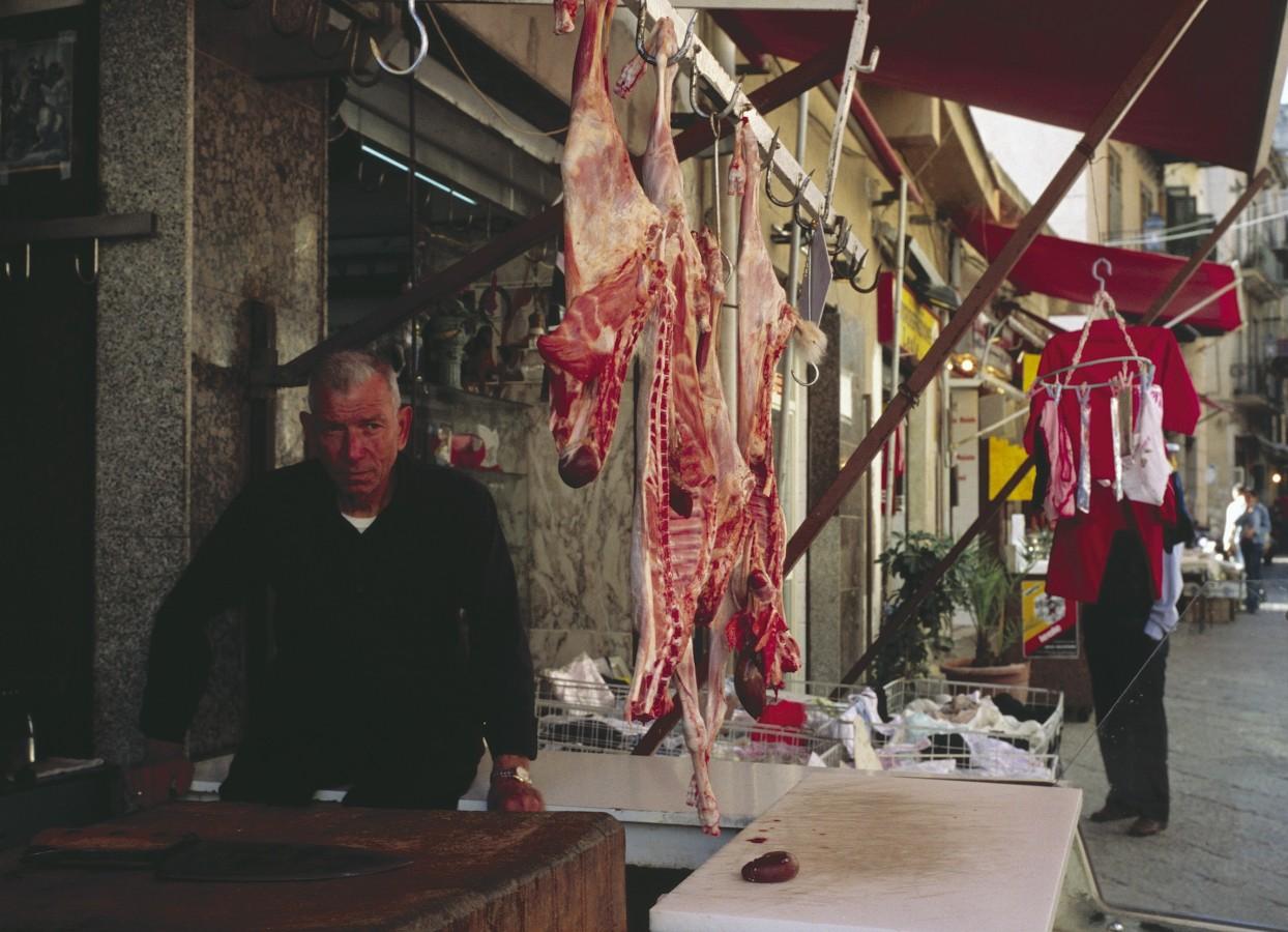 Meat market, Palermo