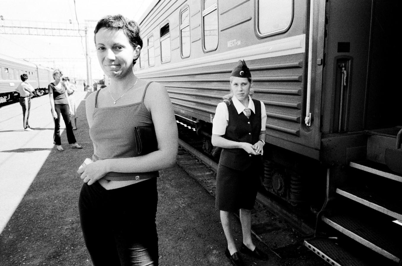 """Our fellow passenger Sveta and our """"provodnitsa"""""""