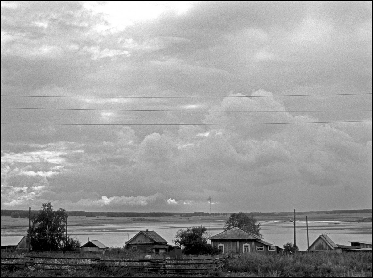 On the road to Schachta, Kuzbaz Region