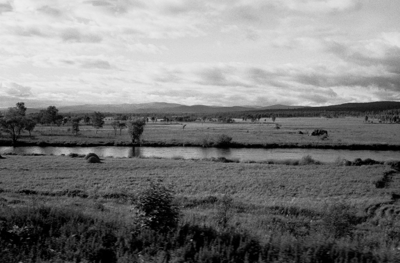 Endless landscapes rolling by