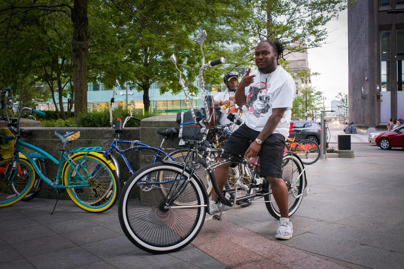 Easyrider, downtown Detroit