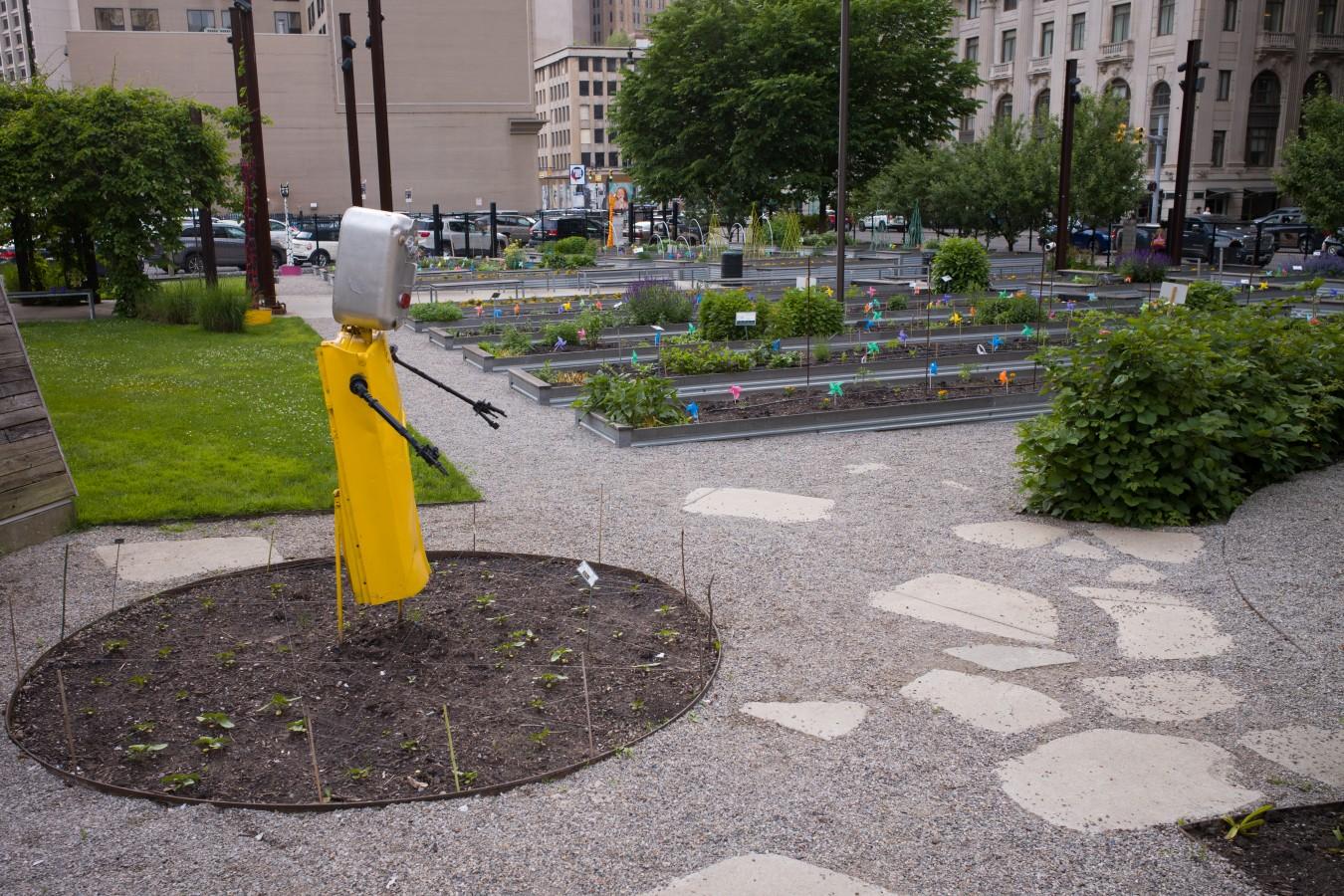 Little gardens downtown