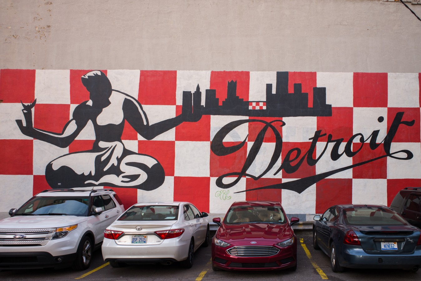Mural downtown